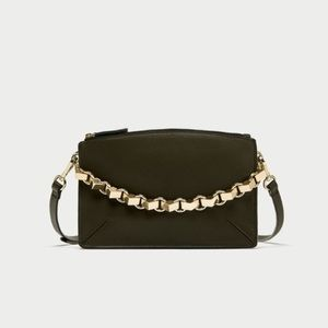 Zara Three-Toned Crossbody Bag